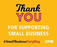 Thank you for supporting small business.